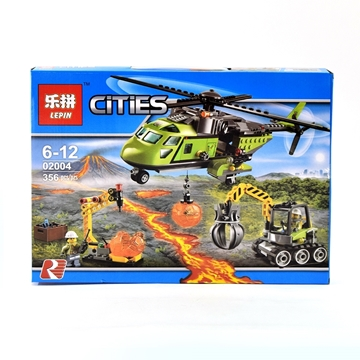 Слика на Cities helicopter сет коцки